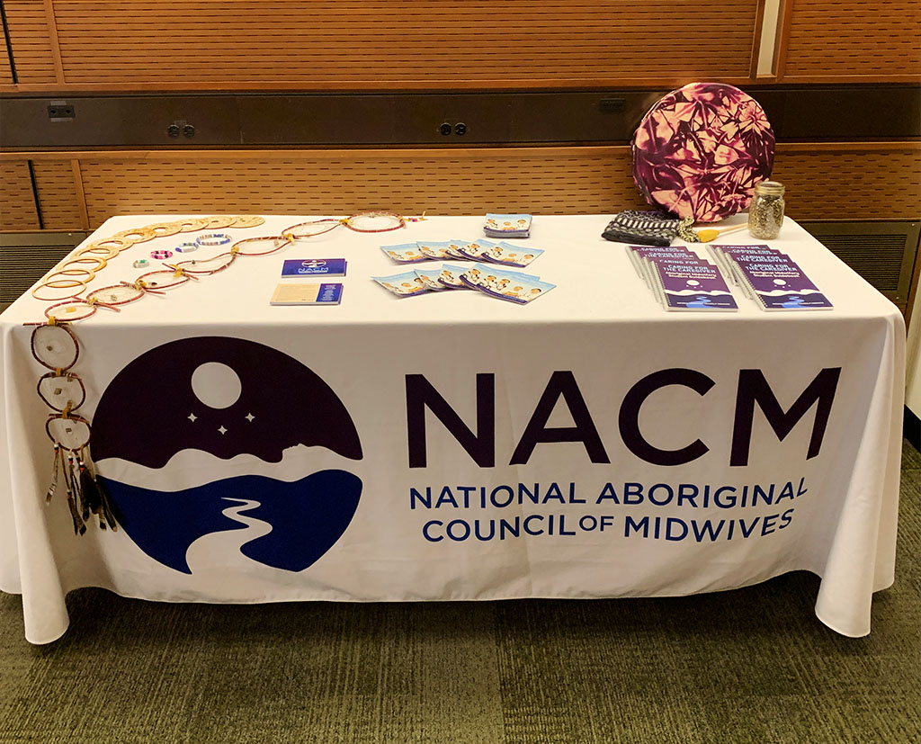 NACM Education Table at the International Day of the Midwife Parliamentary Reception 2019