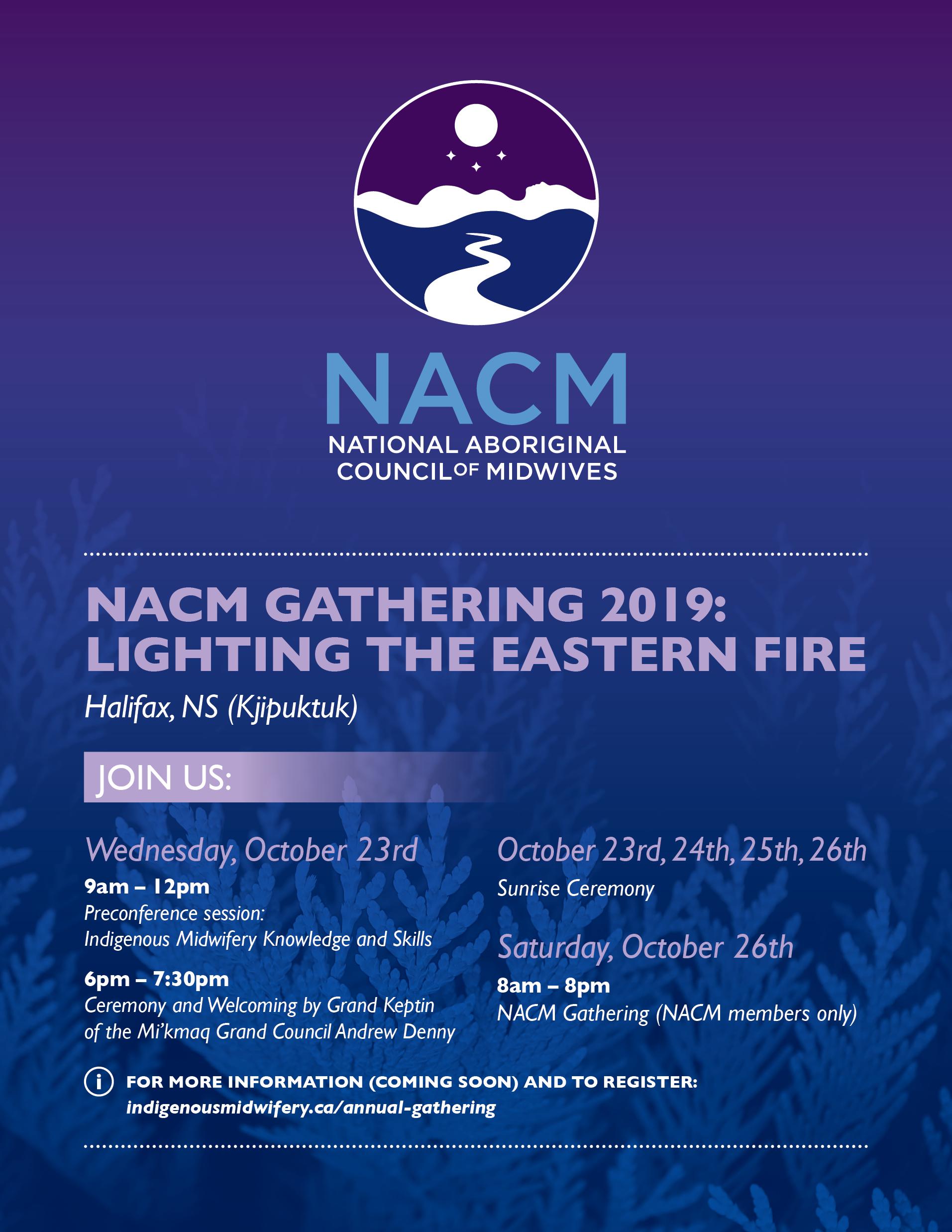 NACM Gathering 2019 Promo Flyer